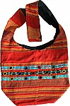 Red Bohemian College Bag