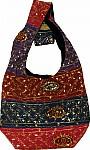 Satchel Bag with Sequins