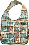 Sequined Patchwork Purse