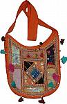 Multicolored Patchwork Handbag Purse