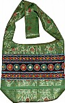 Brocade Sari Embroidered Handbag