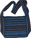 Cotton Blue Handbag