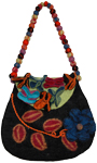 Urn Wool Fashion Handbag