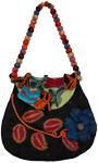 Urn Wool Fashion Handbag