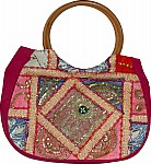 Shiraz Patchwork Sequined Purse Bag