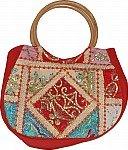 Hobo Sequin Bag in Dark Red [3039]