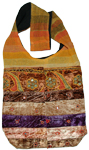 Velvet Cotton Bohemian Shoulder Handbag