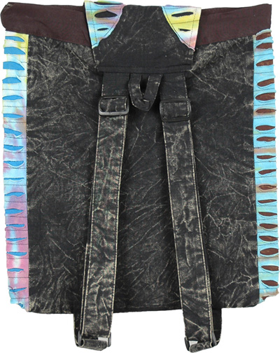 Boho Razor Cut Rucksack Bag