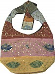 Bohemian Boho Shoulder Handbag Purse w/ Sequins