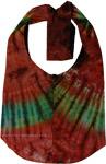 Tie Dye Cosmic Yoga Shoulder Bag