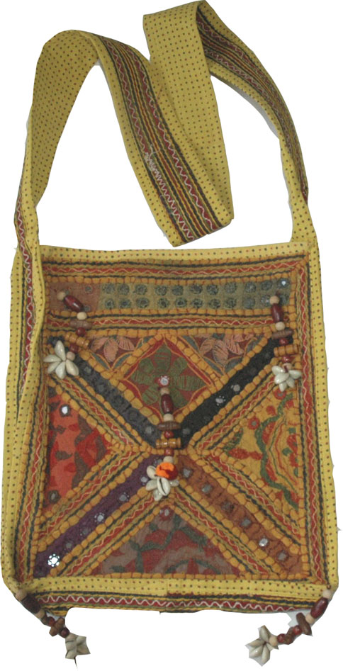 Hand Embroidered Sling Bag