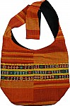 Bohemian handbag purse in orange