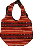 Handloom College Sling Bag in Orange
