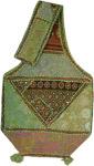 Patchwork Ethnic Handmade Green Cotton Handbag