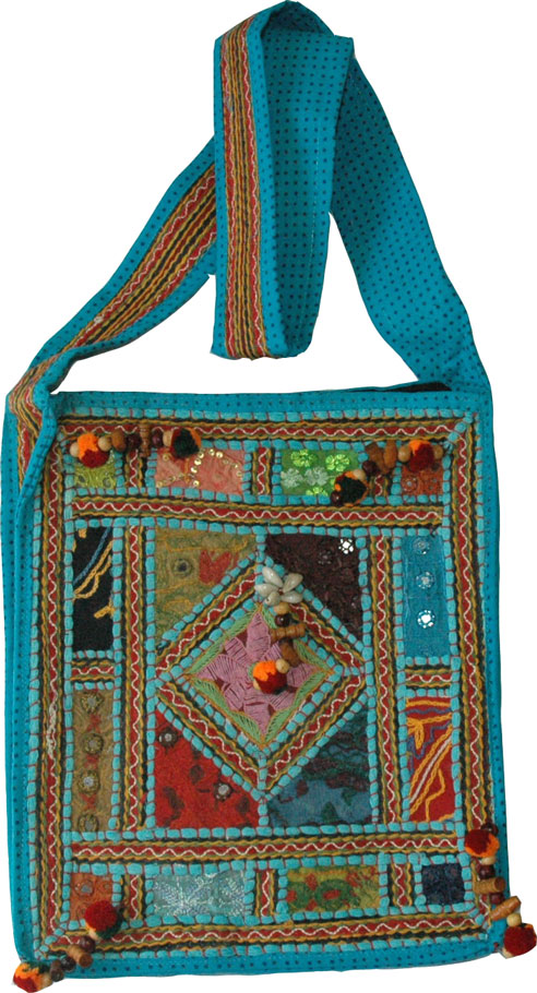 Venice Blue Womens Handbag
