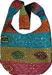 Indian Handbag Purse w/ Sequins