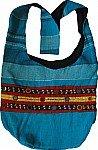 Blue Summer Cotton Handbag