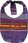 Lavender Ethnic Book Bag