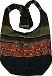 Black Bohemian Shoulder Bag