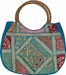 Sequined Womens Handbag
