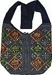 Mid Gray Ethnic Handbag