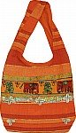 Orange Handbag Purse
