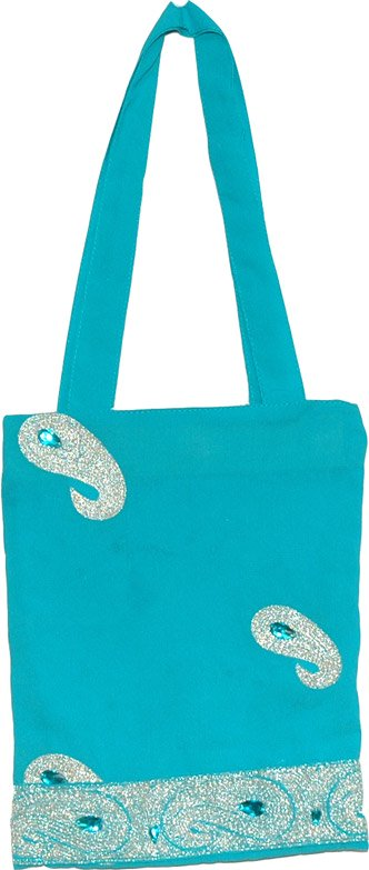 Georgette Party Bag with Embroidery