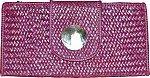 Cane Weaved Clutch Purse