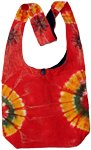 Tie Dye Solar Flare Shoulder Bag