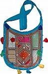 Turquoise Patchwork Handbag