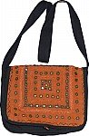 Tuscany Black Flap Ethnic Bag