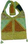 Green with Envy Bohemian Shoulder Bag