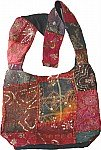 Patchwork and Sequins Handbag