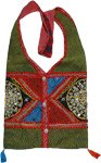 Ethnic Cotton Patchwork Handbag