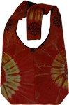 Tie Dye Flare Shoulder Bag