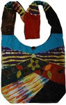 Bohemian Razor Tie Dye Shoulder Bag