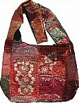 Patchwork and Sequins Handbag Purse