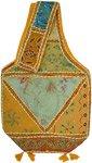 Turmeric Spice Recycled Boho Sling Bag