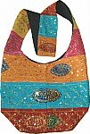 Ethnic Handbag Purse w/ Sequin