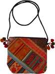 Ethnic Hmong Tribal Style Small Cross Body Bag