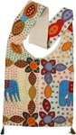 Ethnic Elephant Multicolored Embroidered Cross Body Bag