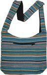 Calypso Gypsy Style Striped Shoulder Bag