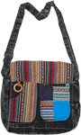 Multi Purpose Boho Book and Laptop Cross Body Bag