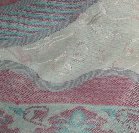 Paisley Embroidered Shawl