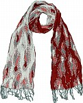 Mexican Red Fashion Scarf