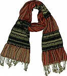 Striped Fashion Scarf
