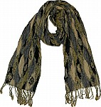 Earthen Tonal Long Scarf
