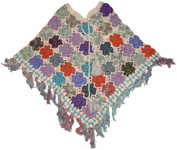 Linen Givry Hand Made Crochet Poncho