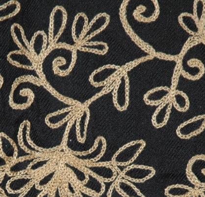 The Hampton Embroidered Shawl