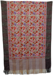 Graceful  Embroidery Indian Shawl [2646]